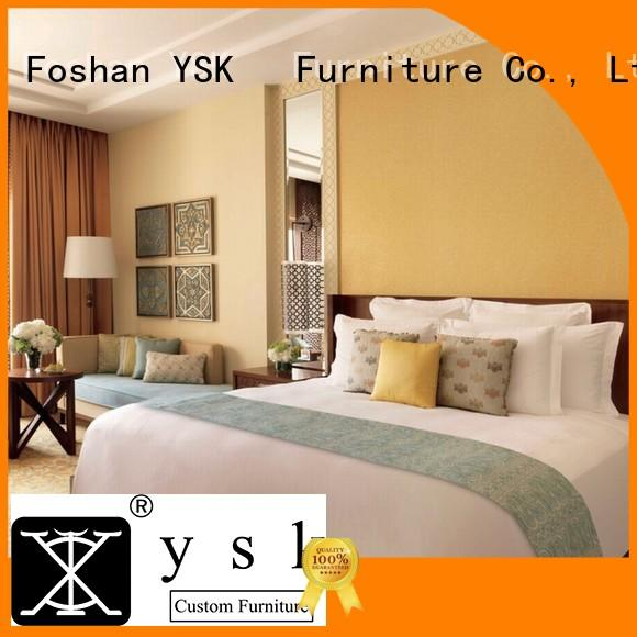 YSK Furniture five-star wholesale hotel furniture suppliers made hotels solutions