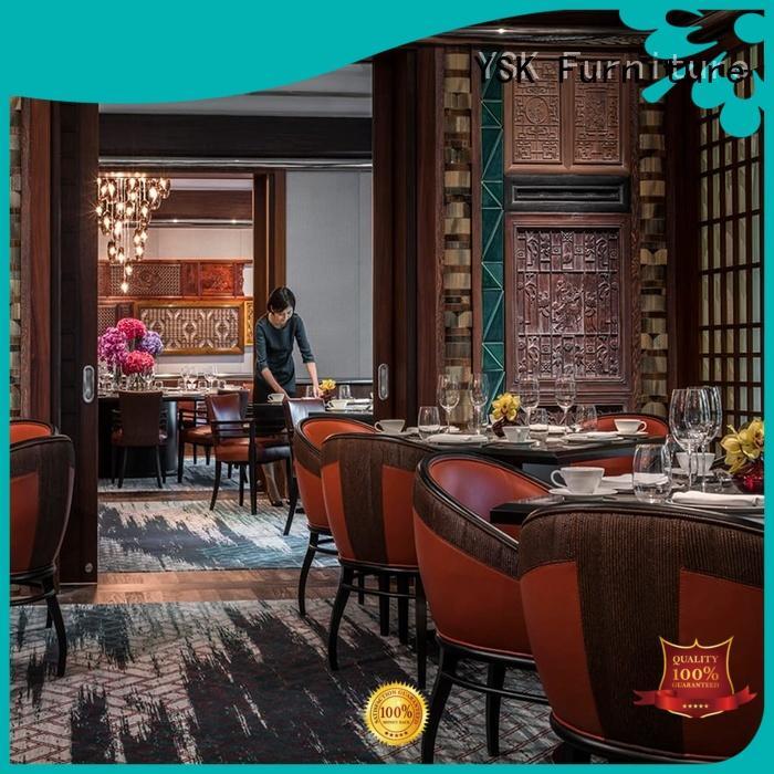 High End Quality Custom Wood Restaurant Furniture