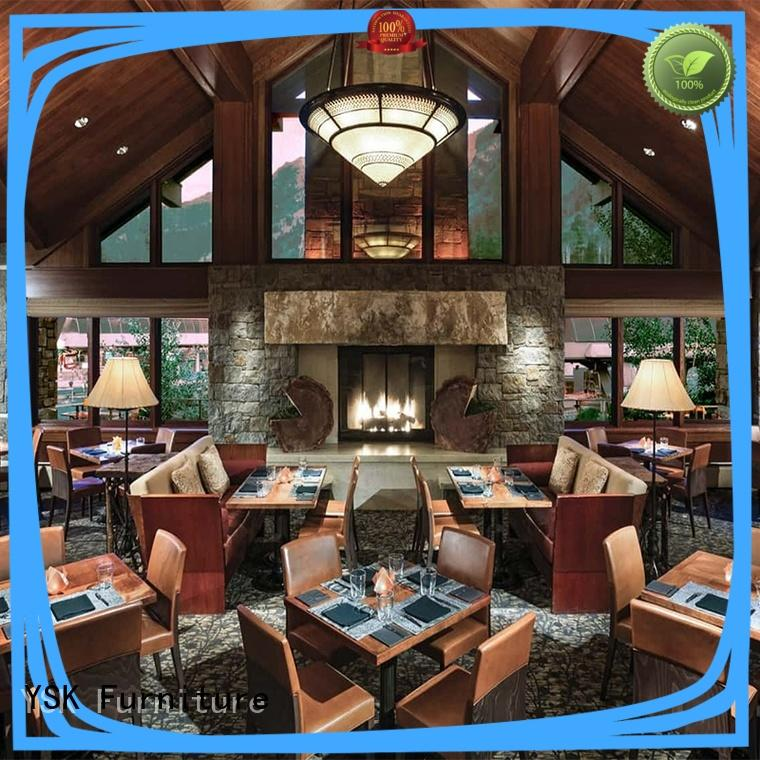 YSK Furniture contract cruise custom restaurant furniture stylish made five star hotel