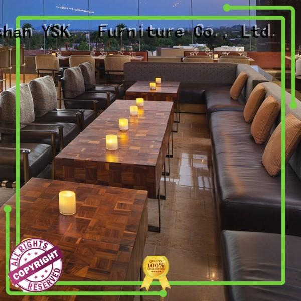 YSK Furniture high grade restaurant chairs solid wood five star hotel