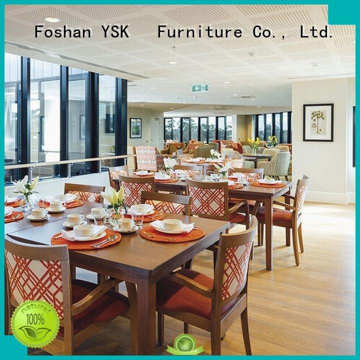 YSK Furniture custom restaurant furniture plywood ship furniture