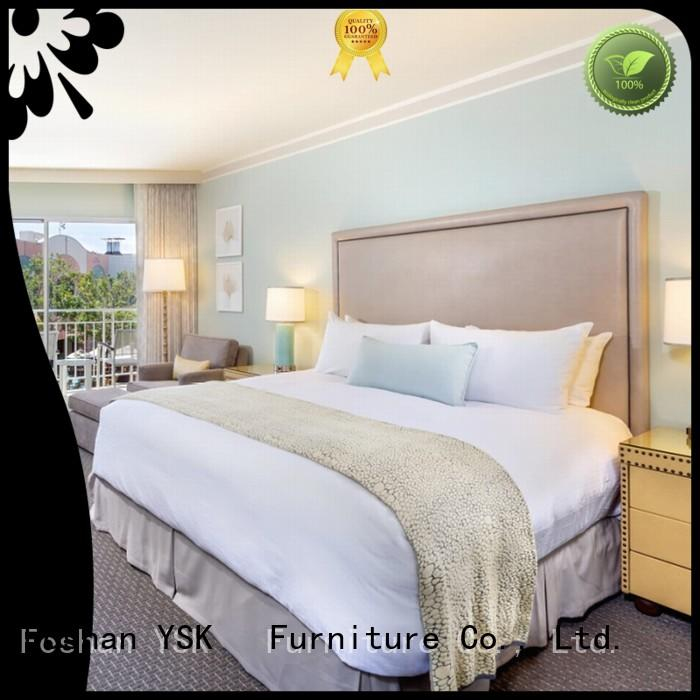 YSK Furniture wholesale hotel room furnishings project