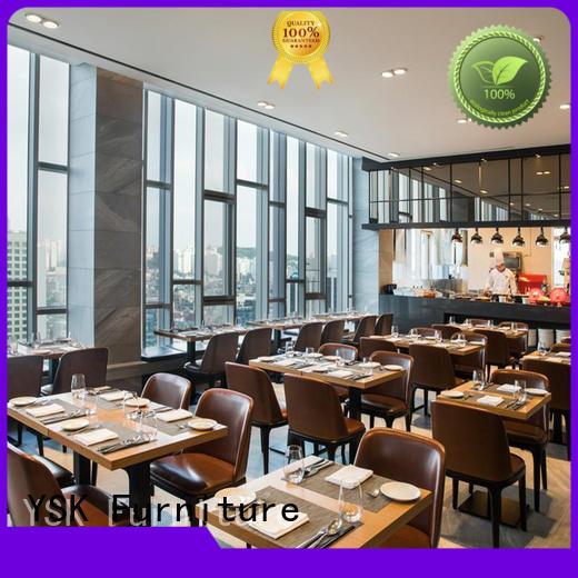 YSK Furniture Chinese restaurant custom restaurant furniture high quality five star hotel