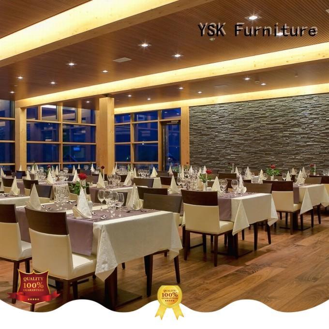 YSK Furniture high grade restaurant furniture high quality dining furniture
