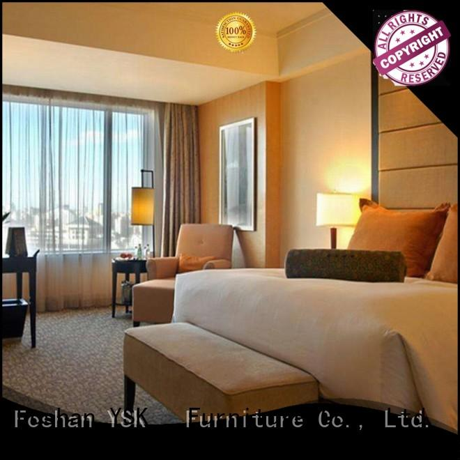 YSK Furniture wholesale 5 star hotel furniture guest for furnishings