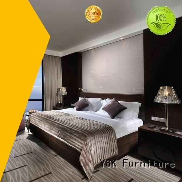 YSK Furniture wholesale high end hotel furniture twin project