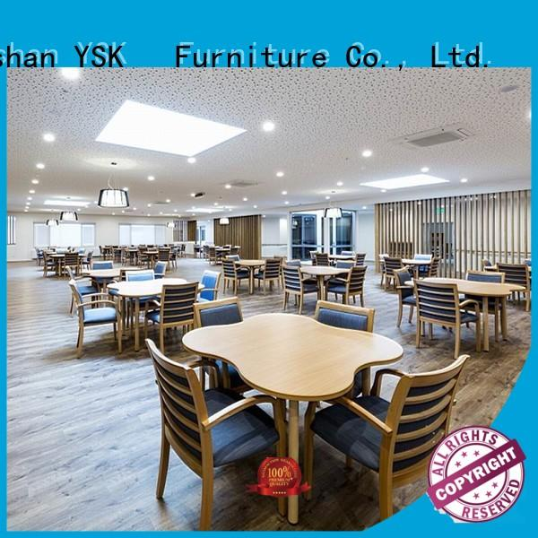 wooden furniture for assisted living facilities factory price retirement senior age