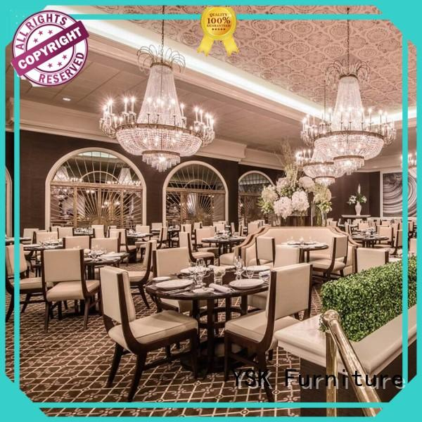 high-end restaurant furniture design solid wood luxury dining furniture