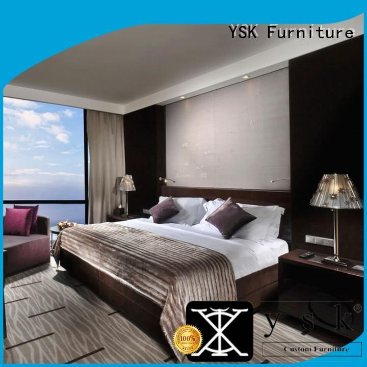 YSK Furniture customized hotel dining furniture wholesale hotels room