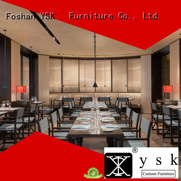 custom restaurant furniture solid wood luxury dining furniture