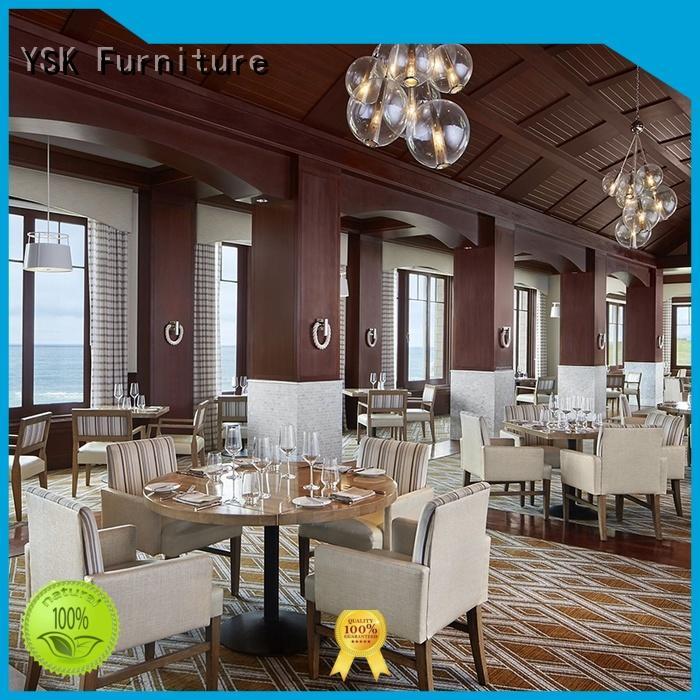 YSK Furniture unique restaurant furniture supply commercial five star hotel