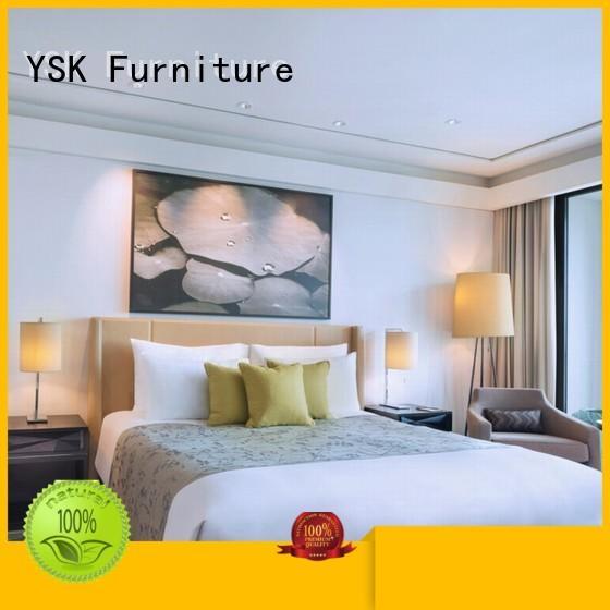 YSK Furniture business modern hotel furniture twin hotels room