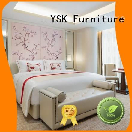 luxury hotel bedroom furniture oem for furnishings