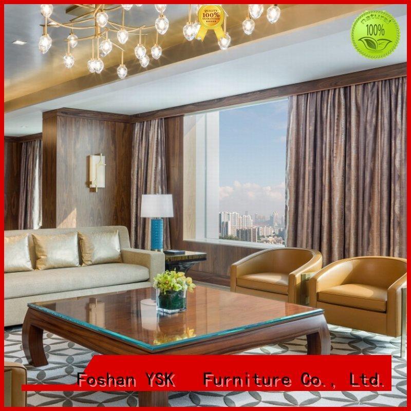 YSK Furniture professional gentlemen's club furniture bulk production for hotel
