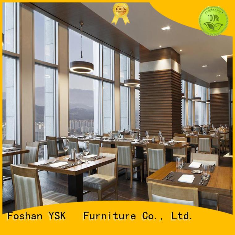 customized modern restaurant furniture hospitality restaurant YSK Furniture