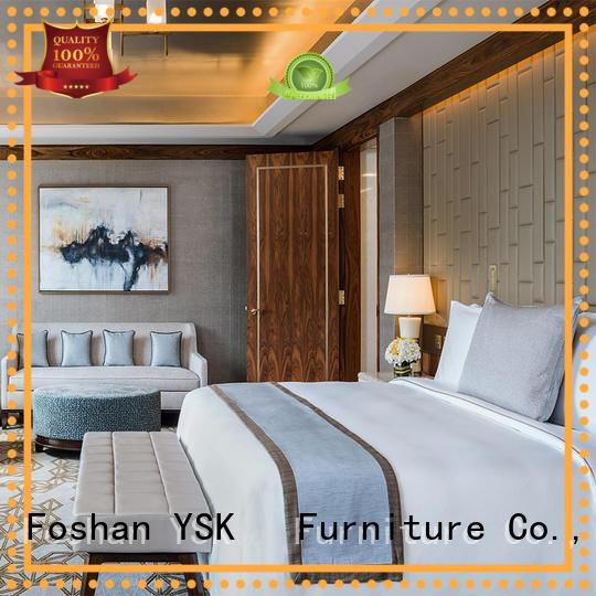 YSK Furniture customized hotel furniture design end modern bedroom