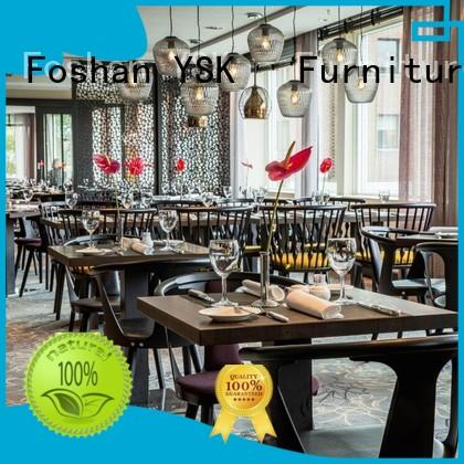 YSK Furniture on-sale restaurant furniture contemporary five star hotel