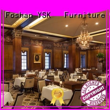 YSK Furniture Chinese restaurant modern restaurant furniture stylish made dining furniture