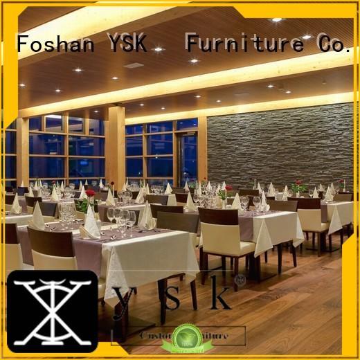 YSK Furniture contemporary restaurant bar chairs stylish made five star hotel