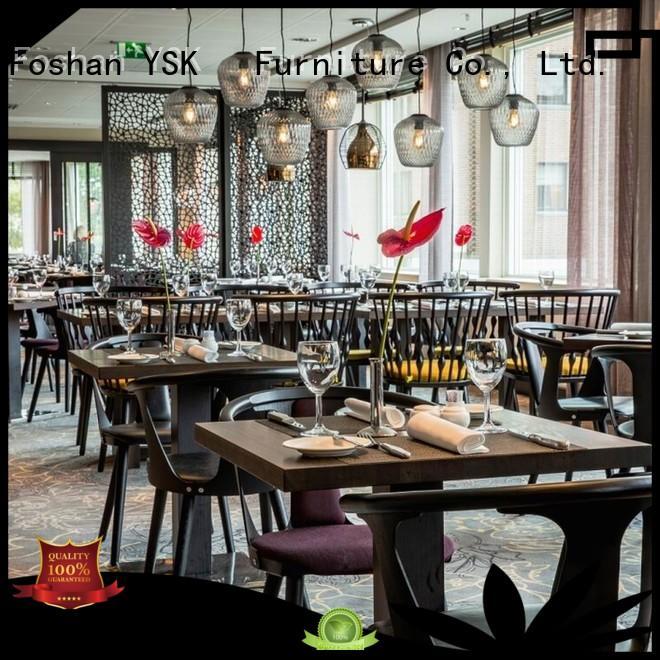 YSK Furniture luxury restaurant furniture high quality ship furniture