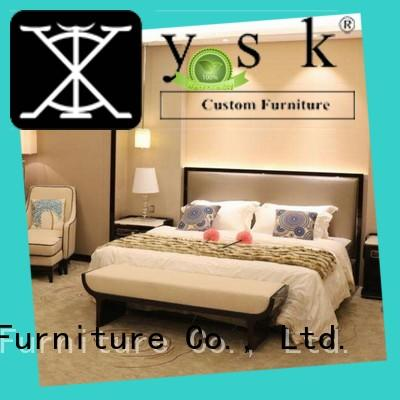 YSK Furniture wholesale high end hotel furniture oem