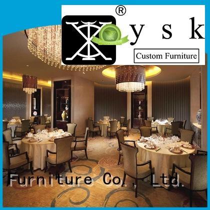 YSK Furniture contract cruise restaurant furniture design interior dining furniture
