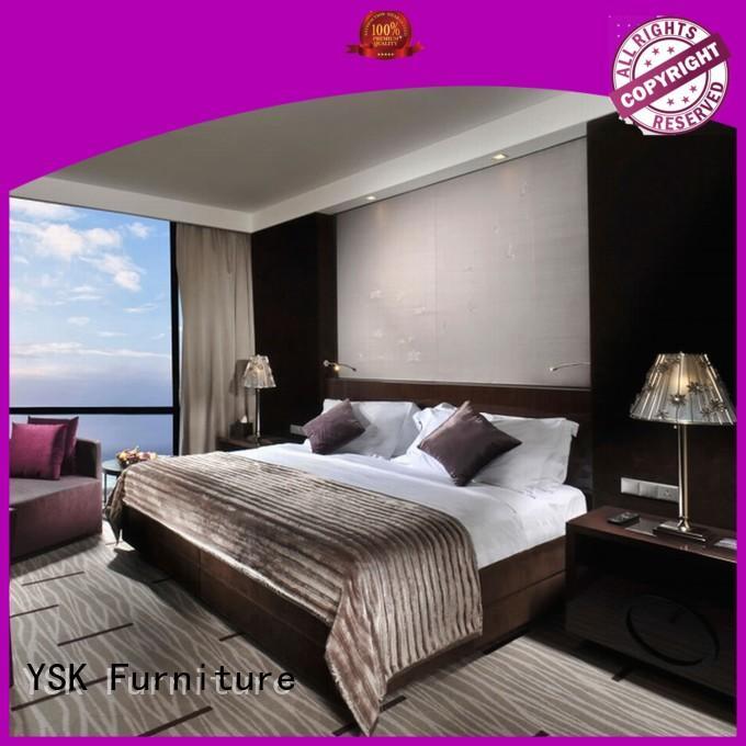 YSK Furniture hot-sale hotel bedroom furniture resort modern bedroom