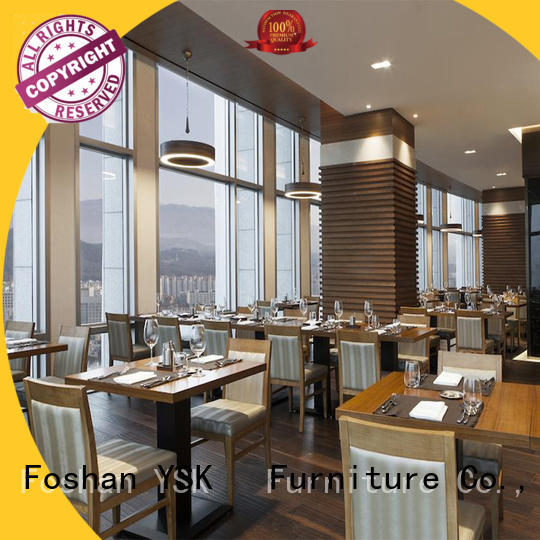YSK Furniture customized restaurant furniture plywood restaurant furniture