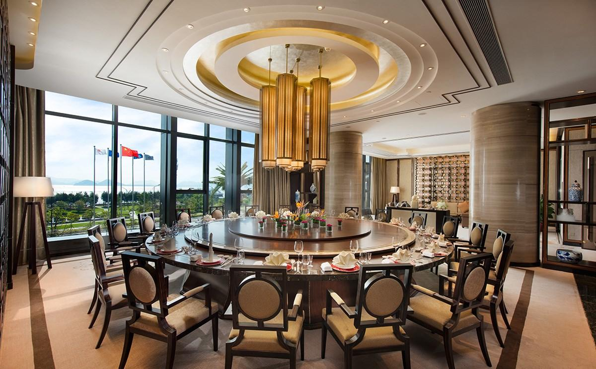 high-end modern restaurant furniture customization interior dining furniture-1