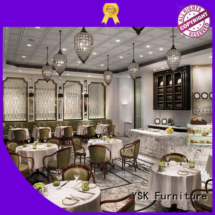 YSK Furniture restaurant furniture design stylish made restaurant furniture