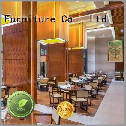 high grade restaurant furniture plywood five star hotel