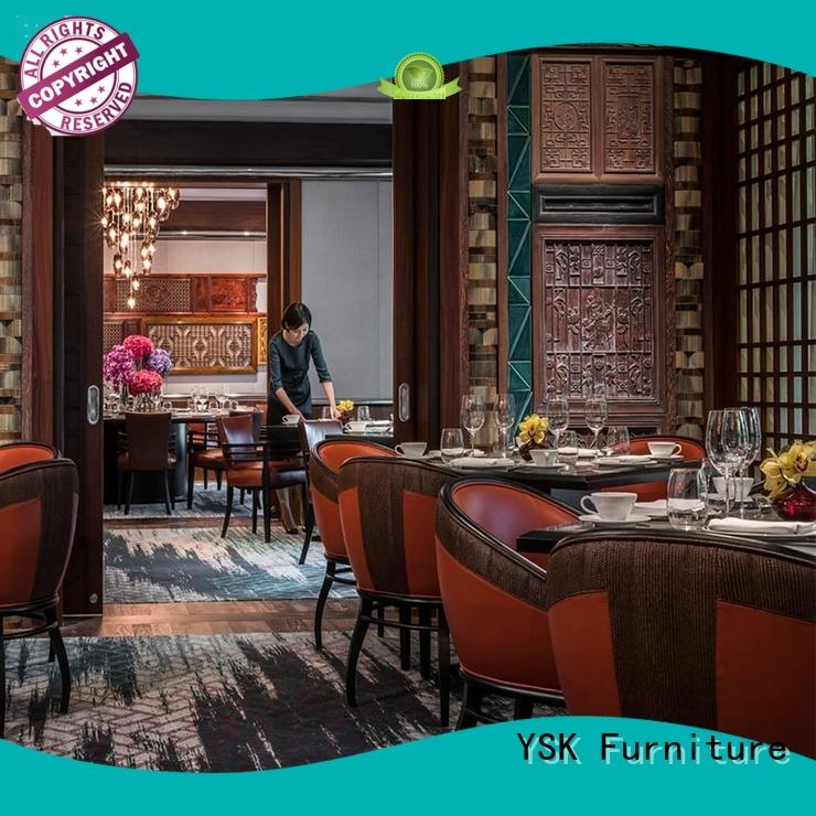 YSK Furniture latest restaurant furniture plywood restaurant furniture