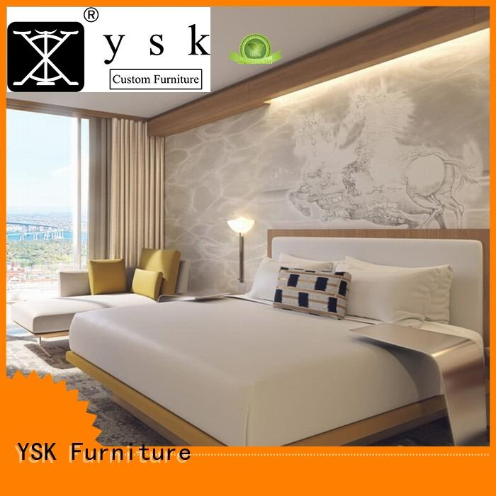 YSK Furniture wooden apartment furniture sets furniture bedroom decoration