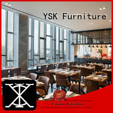 Contract Restaurant Furniture Customized Tables and Chairs