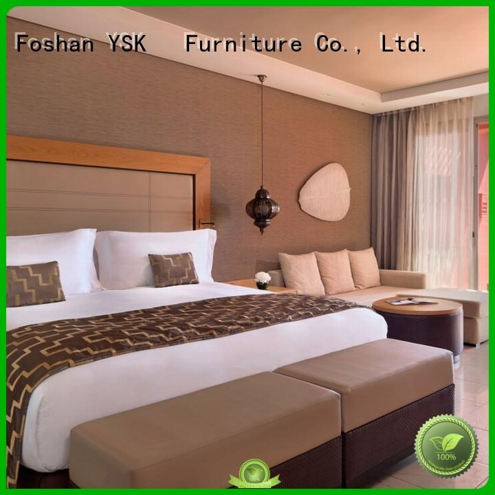at discount apartment bedroom furniture factory price star room YSK Furniture