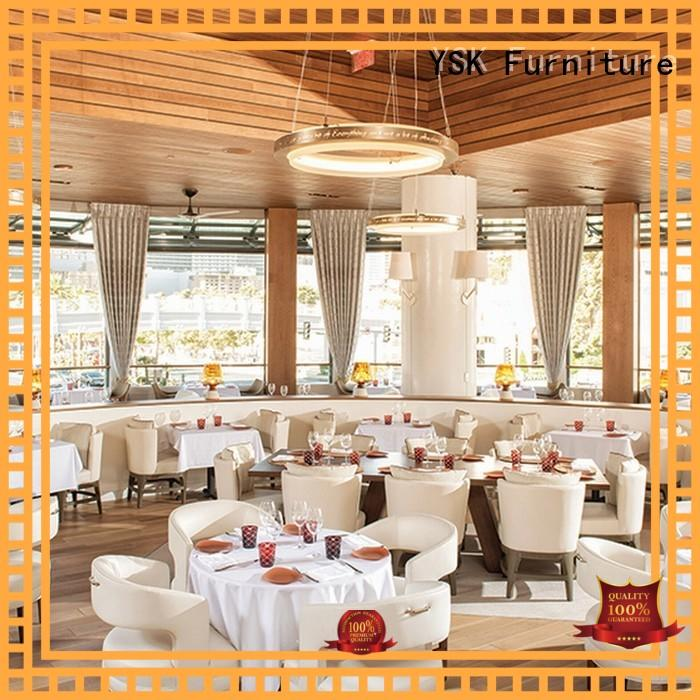 YSK Furniture hospitality luxury restaurant furniture plywood dining furniture