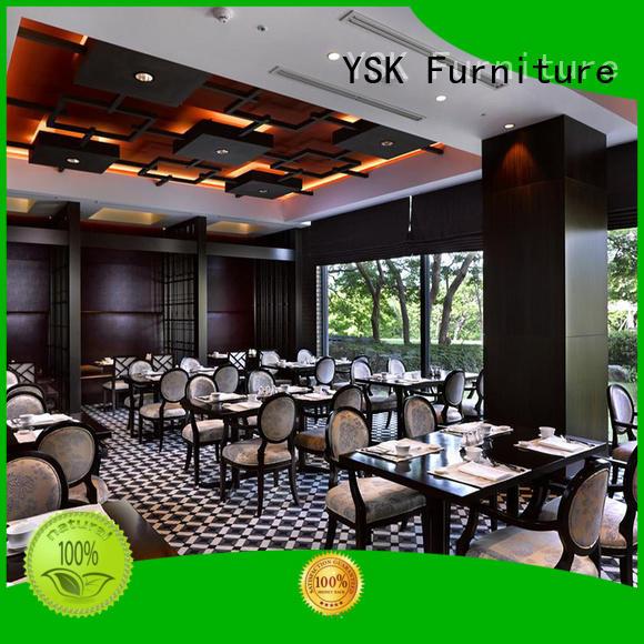 YSK Furniture contract cruise modern restaurant furniture plywood ship furniture