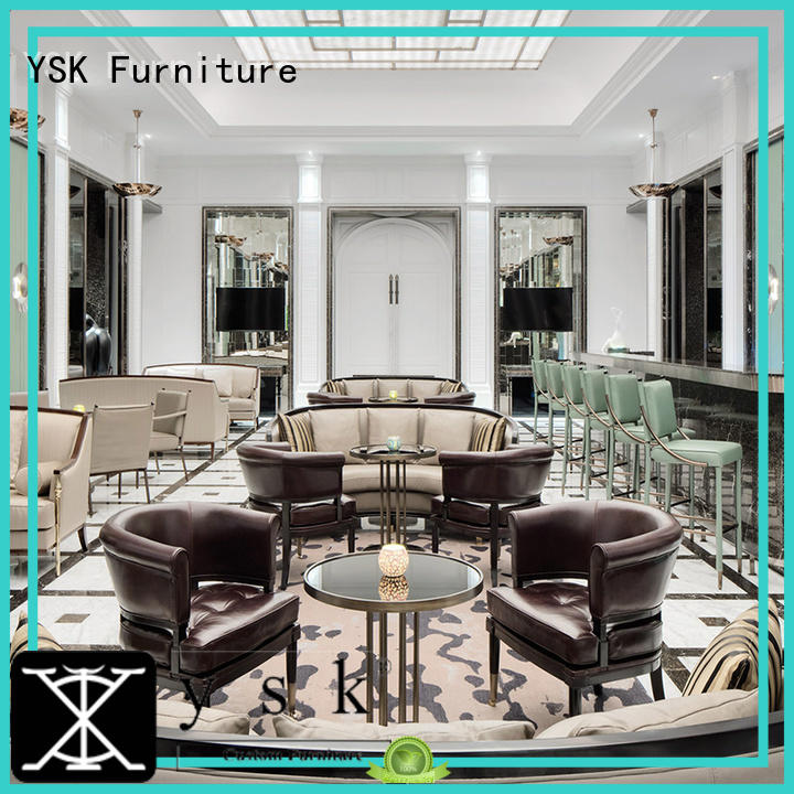 YSK Furniture bulk production golf club furniture contract for house