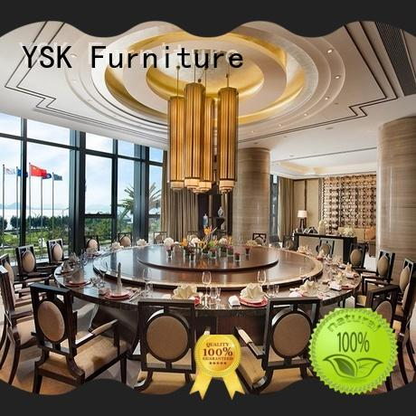 YSK Furniture modern style restaurant furniture design high quality restaurant furniture