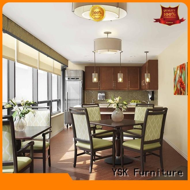YSK Furniture professional furniture for assisted living facilities retirement facility community