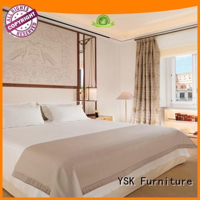 YSK Furniture hotel hotel furniture suppliers wooden modern bedroom