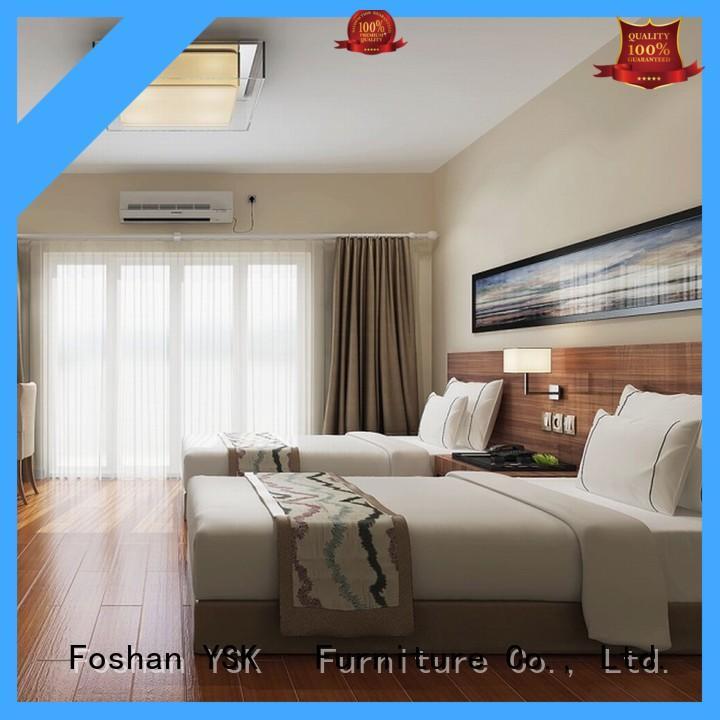 YSK Furniture luxury 4 star hotel furniture makers wholesale modern bedroom