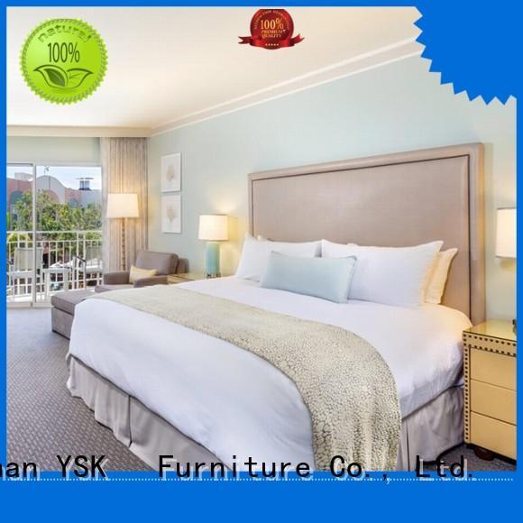 YSK Furniture latest hotel furniture set twin for furniture
