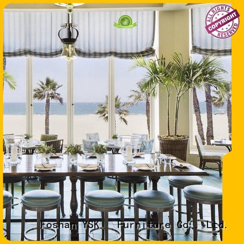 YSK Furniture high grade restaurant furniture design stylish made ship furniture