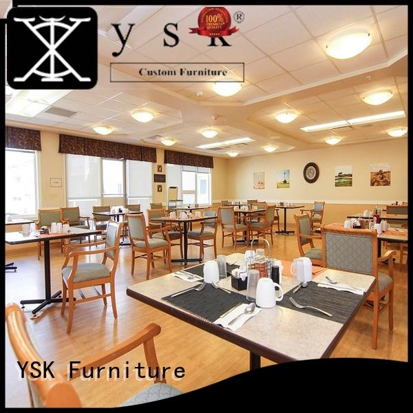 YSK Furniture professional furniture for assisted living facilities senior age
