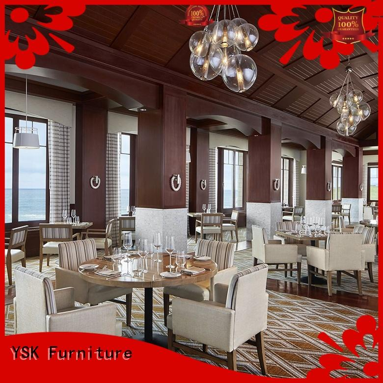 YSK Furniture contract restaurant furniture high quality dining furniture