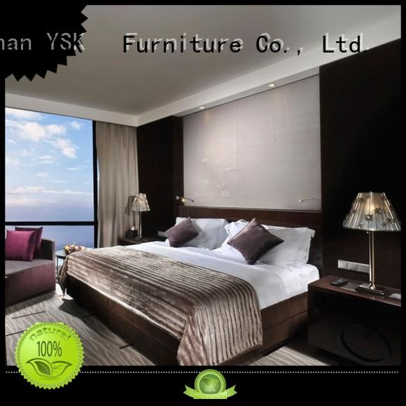 YSK Furniture luxury hotel pool furniture twin hotels solutions