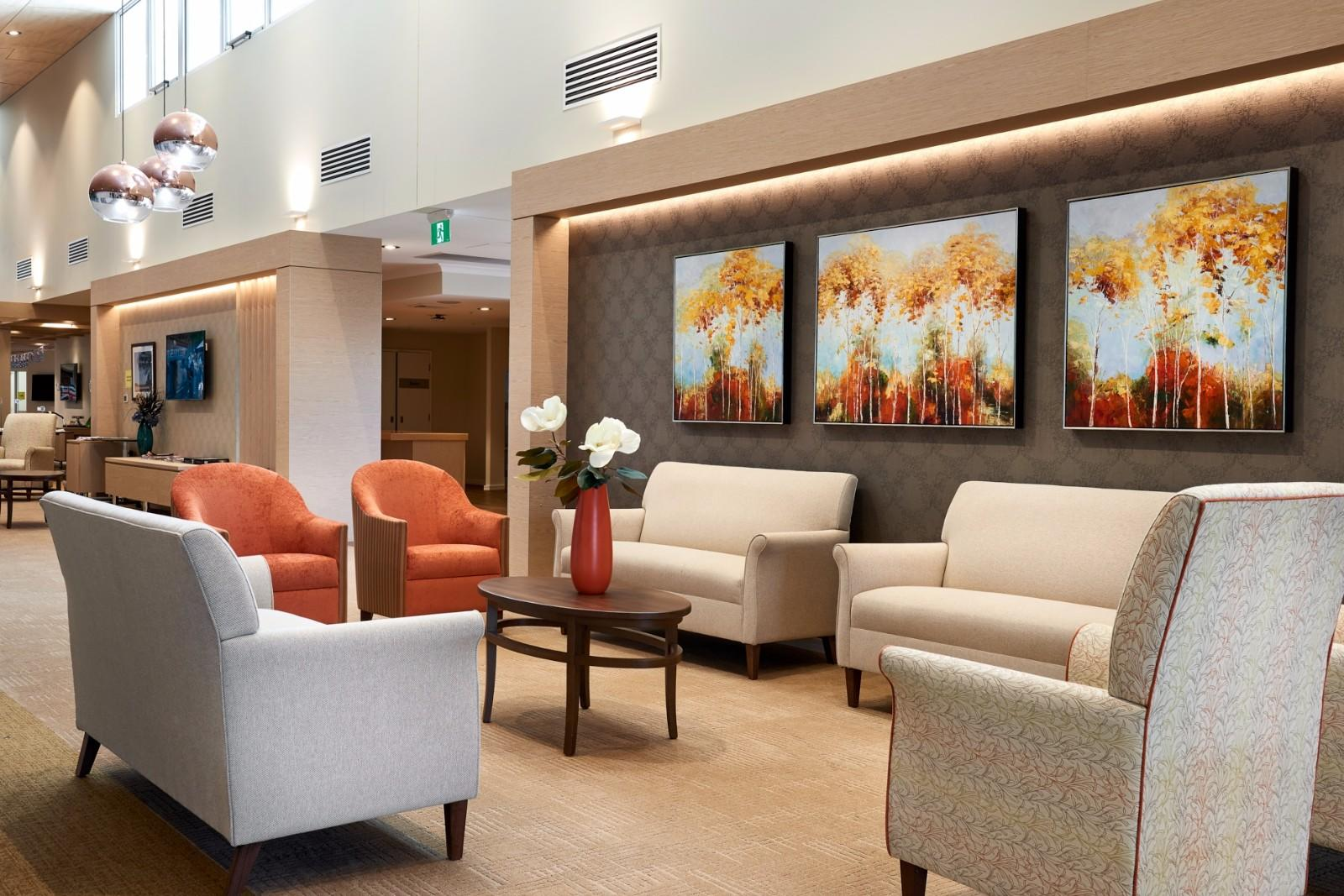 YSK Furniture factory price aged care furniture homes facility community-1