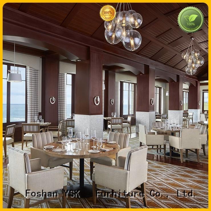 YSK Furniture high-end restaurant furniture sets luxury ship furniture