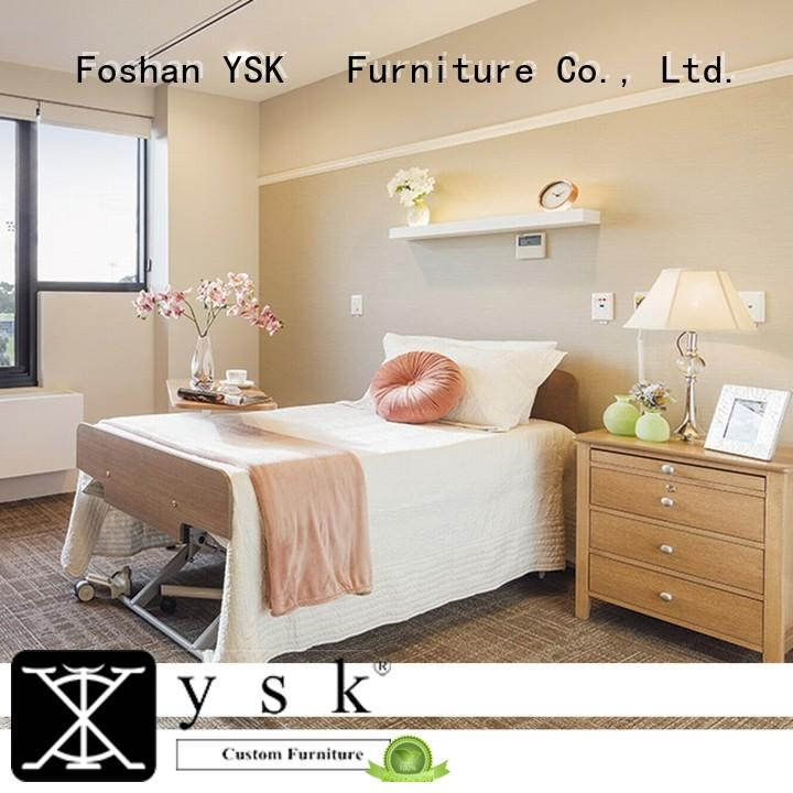 healthcare assisted living furniture low cost nursing room decoration